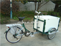 2015 hot sale ice cream 7 speeds adult cargo bike adult tricycle cargo bike for family sales