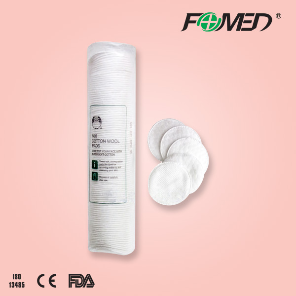 Facial beauty cosmetics cotton pad