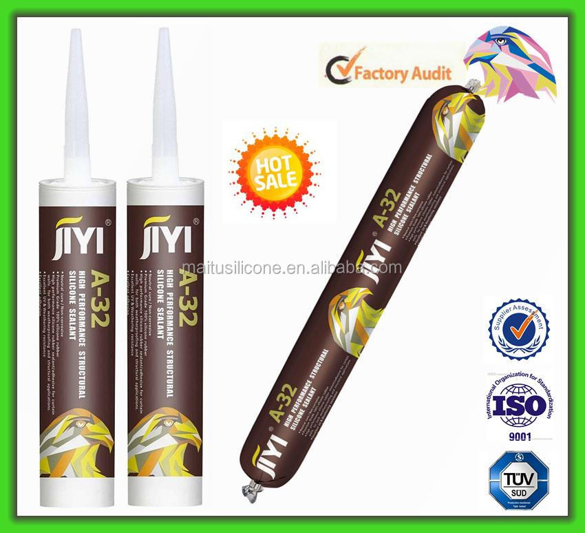 JIYI Neutral Cure Sructural Silicone Sealant for roofs fixed glass window
