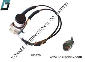 High quality Electric Parts KATO HD820 excavator throttle motor,excavator stepper motor for KATO HD820 China supplier