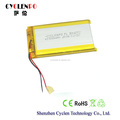 China lipo battery 3.7V 1700mah lithium polymer battery