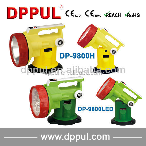 2016 Popular Portable Power Search Light DP9800H