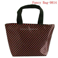 2014 reusable polyester shopping bag /gift bag wholesale