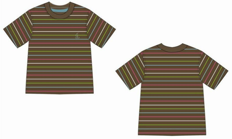 Multicolored Stripes T - Shirt