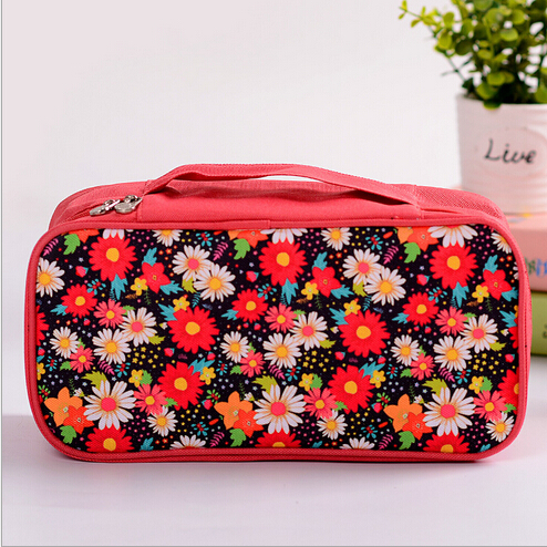 Waterproof Ladies Bra Bag Cute Wash Bag Underwear Storage Bag