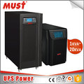 MUST Brand 6kva battery backup online ups