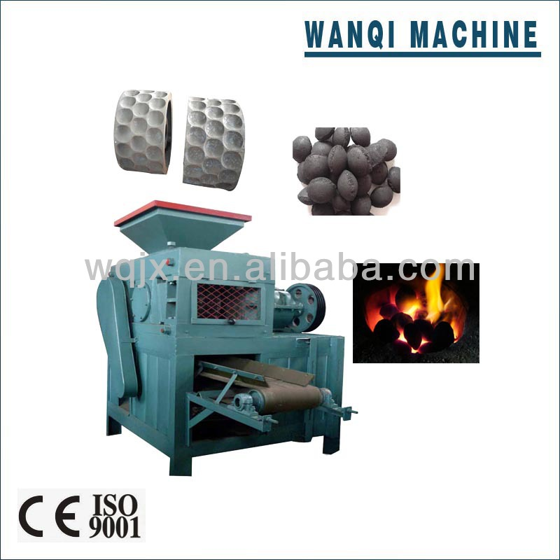 coal/charcoal briquette machine in stock,hot sale in India