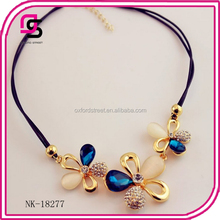 2017 Wholesale luxurious punk chain necklace fashion jewelry