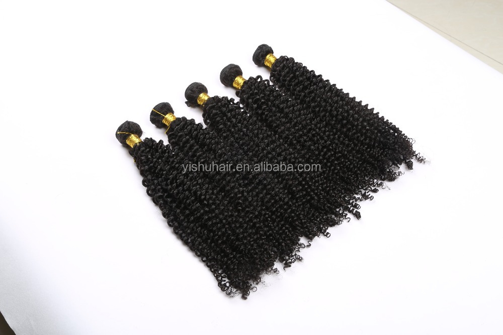 Brazil curly wave hair extension, natural human hair, Remy human hair