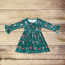china clothing wholesale coloured lights christmas baby clothes kids dress gown