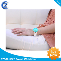 2014 New Sports Smart Bluetooth Wristband Wrist Strap with Pedometer and Incoming Call Notice
