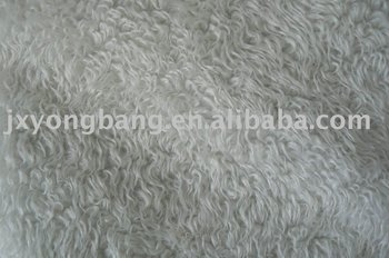 2015 New Products Acrylic/Polyester Animal Looking Short Pile Faux Fur Fabric