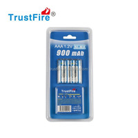 AAA rechargeable batteries from TrustFire factory,1.2V aaa battery 900mAh ,aaa Nimh Battery Cell