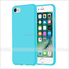 Jelly Glossy Silicon Shockproof Soft Tpu Cover Case For Apple iPhone 7 Phone Case