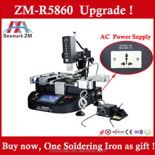 Economical mobile phone repairing and soldering stations ZM-R5860 BGA rework station with soldering iron 2 in 1