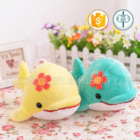 Whosale cute stuffed plush dolphin sea animals for kids