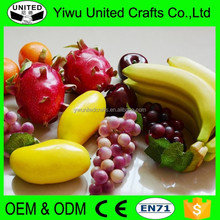 2016 lifelike Artificial fruit vegetable for home decoration