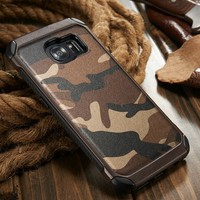 S7 edge Case New Arrival Leather Hard Case 2 in 1 Phone Case for Samsung Galaxy S7 edge