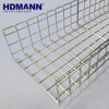HDMANN Stainless Steel SS316 Wire Mesh Cable Tray Plastic Basket Tray