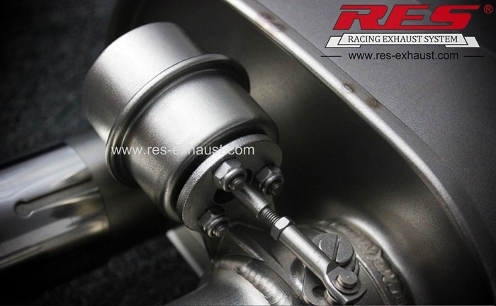 Best price gr2 titanium exhaust system for Audi A8