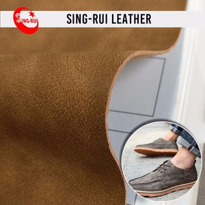 Wholesale PU Material Leather Fabric for Shoe Making