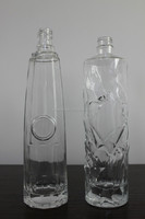FRENCH COGNAC GLASS BOTTLES WITH CAP 750ML
