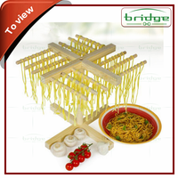 Kitchen helper bamboo/wooden cold noodle stand, food drying racks