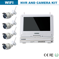 home security system wireless ip camera set
