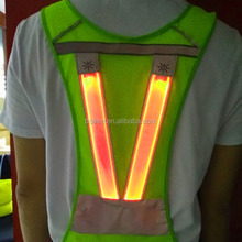 2017 hot selling products sport running gear led safety vest