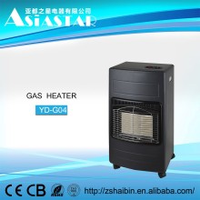 China supplier room gas heater natural indoor portable gas heater