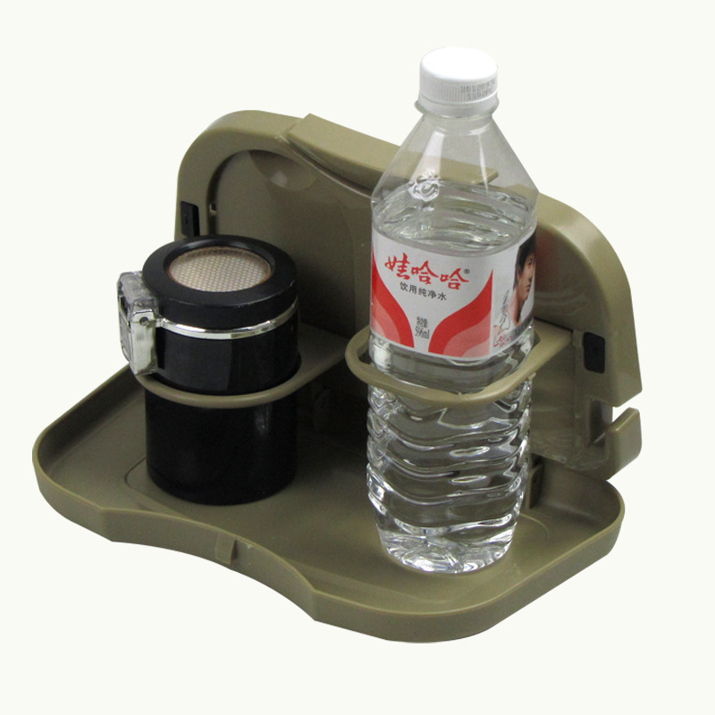 Hot sale Foldable Car Auto Food Meal Drink Tray Desk Dining Table Water Cup Holder