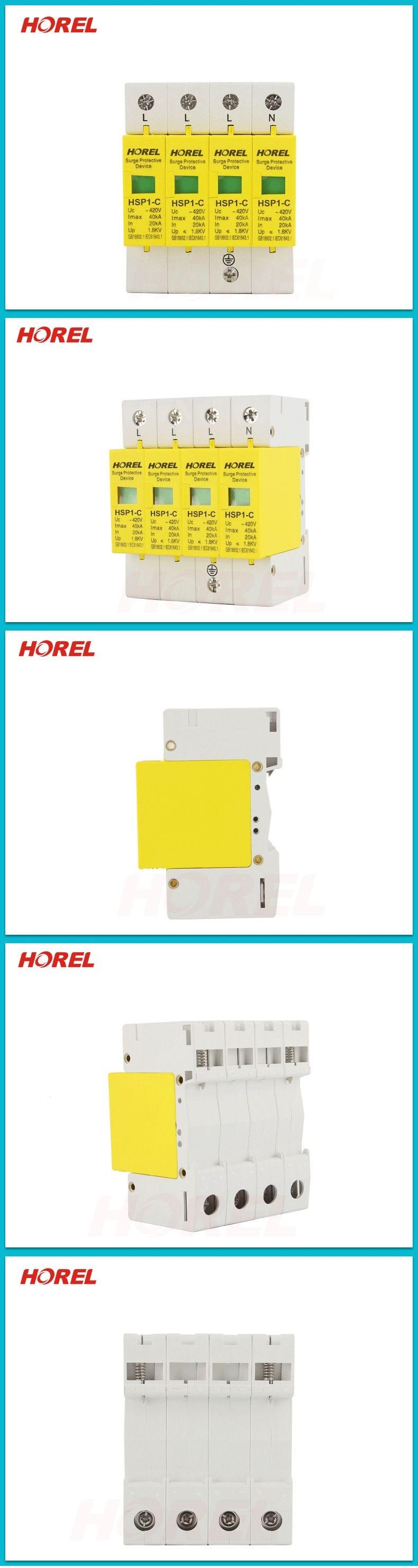 20ka 40ka Surge Protector 220v Single Phase Buy Circuit Breaker Protector220v Mini Hsp1 C