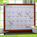 China supplier new design wholesale custom calendar whiteboard