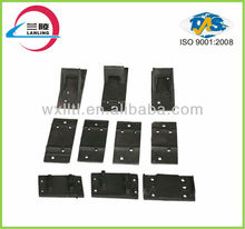 steel iron plates of railway spare parts used on railway construction