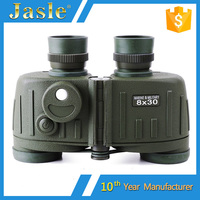 High Quality 8X30 Russian Military Marine Binoculars With Compass & Distance Measuring