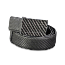 High Quality Handmade Western Style Carbon Fiber Classsic Belt Pin Buckle Belt for Men