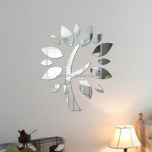 taobao fashion tree best selling mirror wall stickers