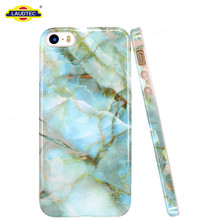 IMD design marble texture cover case for iphone 5 phone case