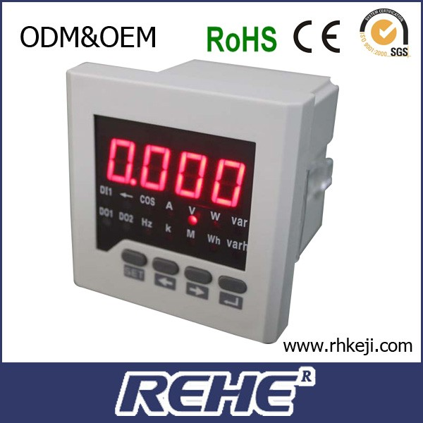 RH-D81 With 3 years warranty small size single phase digital analog Multimeters
