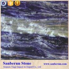Polished Sodalite Blue Marble Slab