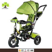 new arrivals 2018 toys wholesale baby tricycle with light music, kids tricycle importer , China children tricycle with trailer