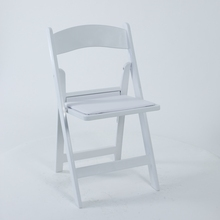 Low Price Folding Resin White Plastic Chair