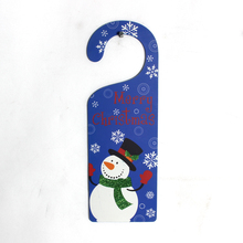 christmas design decorative felt door knob hangers with high quality