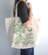 Eco-friendly Germany quality custom recycle cotton shopping bag