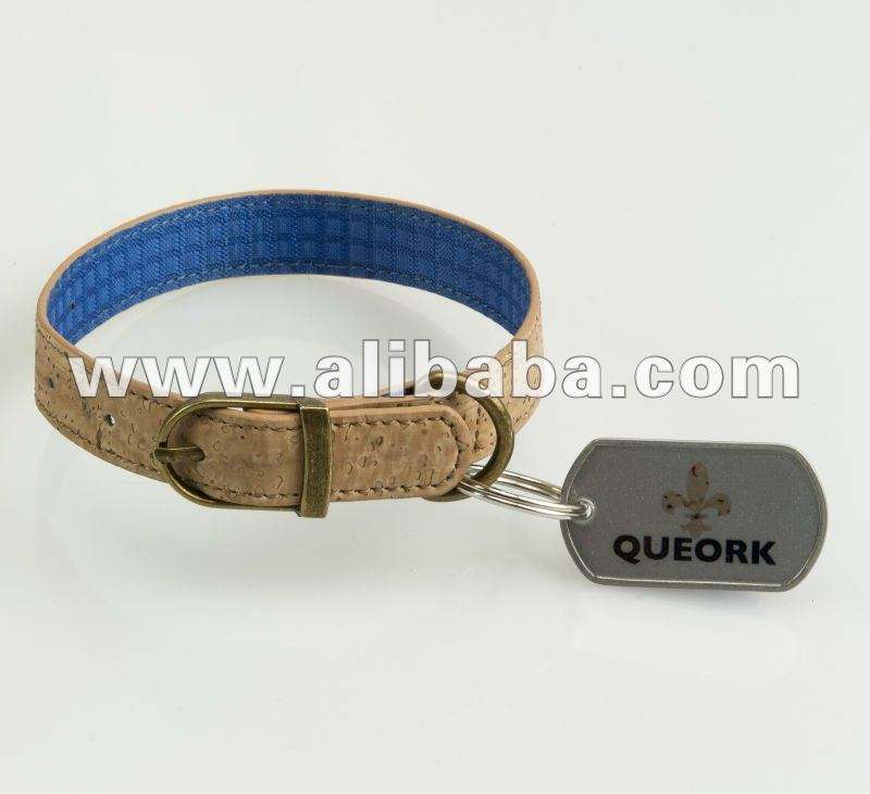 Cork Pet Collars by QUEORK