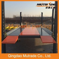 3600kg capacity 2100mm clearance width platform auto parking lift