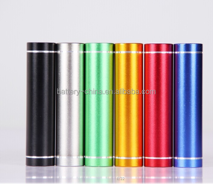 2015 new product durable Power Bank 2600mah, rechargeable intelligent power bank