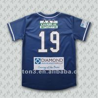 Custom cheap sublimated softball jersey/baseball jersey