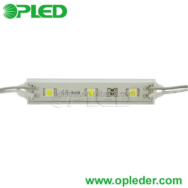 CE/Rohs DC12V 0.72W waterproof 3 chips 5050 led smd <strong>module</strong>