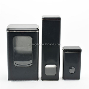 wholesale metal spice tins small round tin box for balck pepper